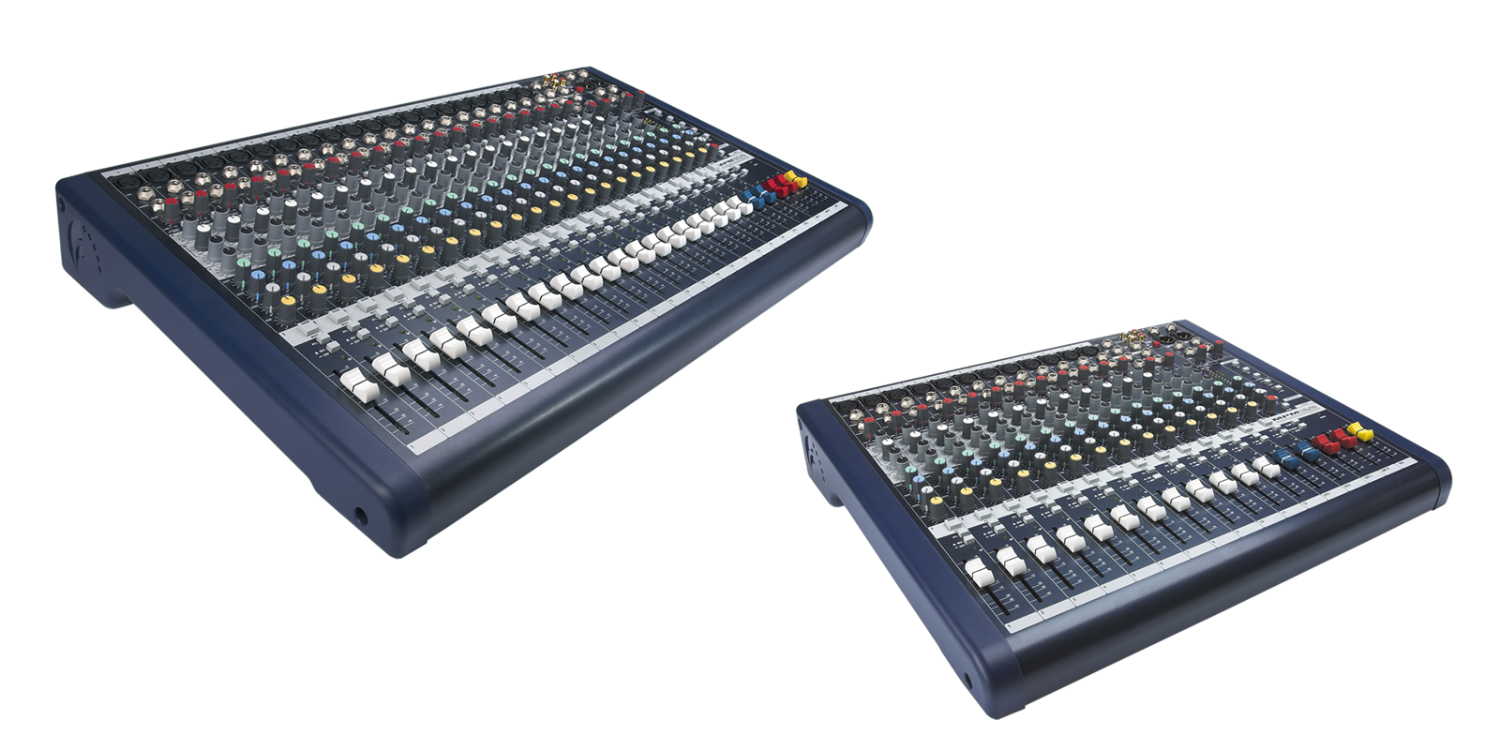 Mixer Soundcraft EFX 20